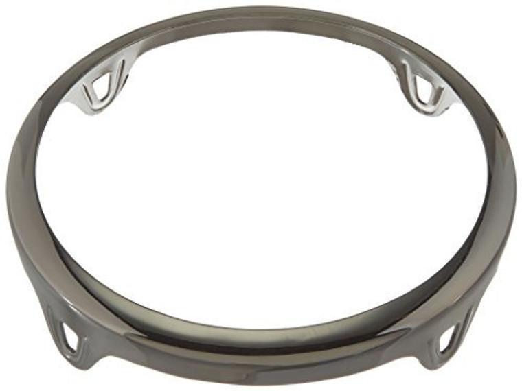 Toca Elite Pro Fiberglass Large Bongo Hoop - Black Chrome (TP-3170LHB)