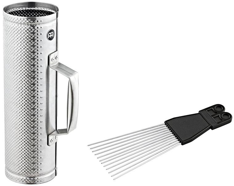 Meinl Small Brushed Steel Merengue Guira with Scraper (MGU2)