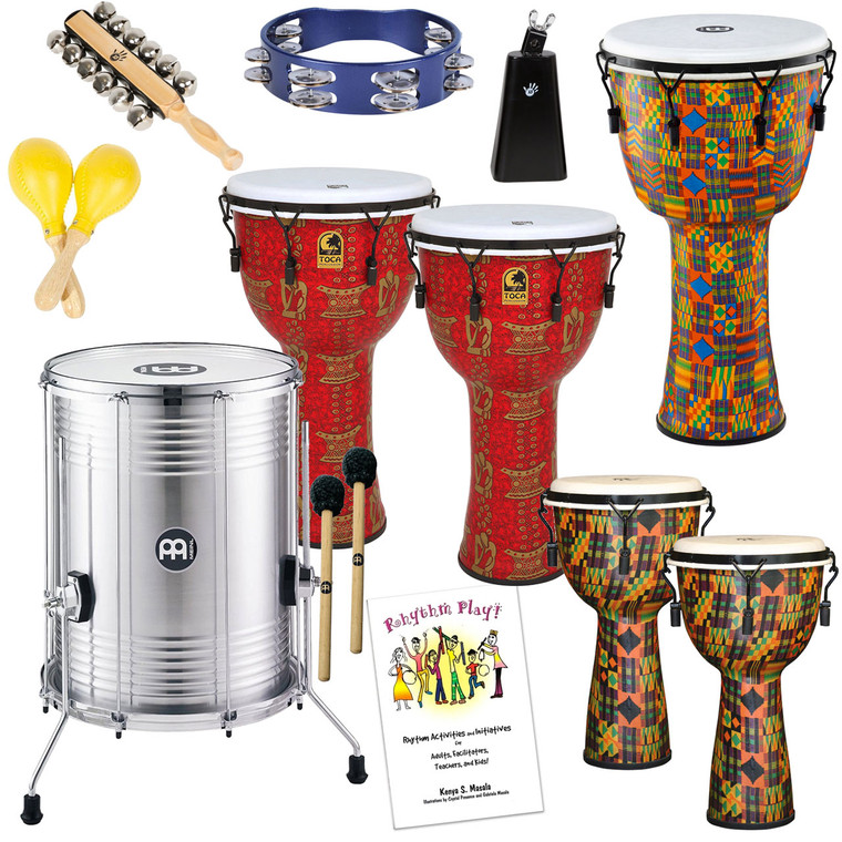 10-Person Drum Circle Package