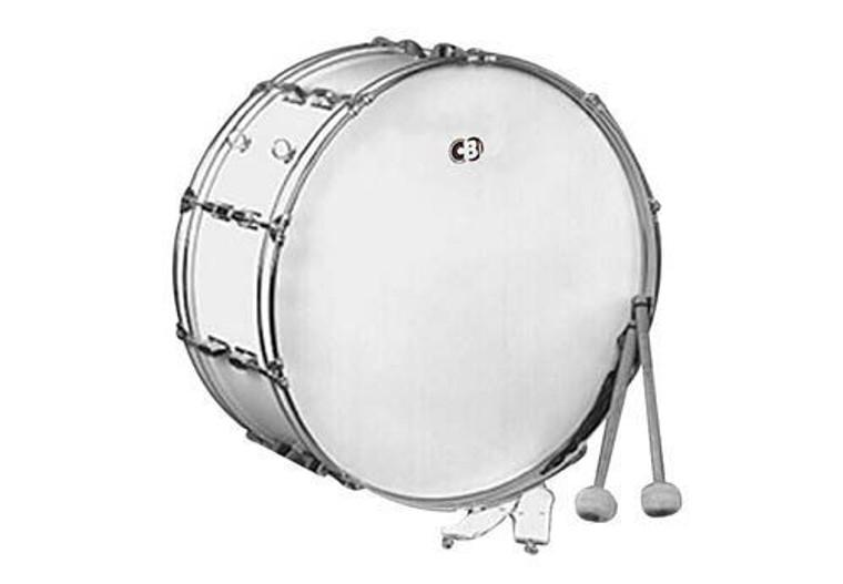 "CB Tournament Series 14""x22"" Bass Drum White (3659)"