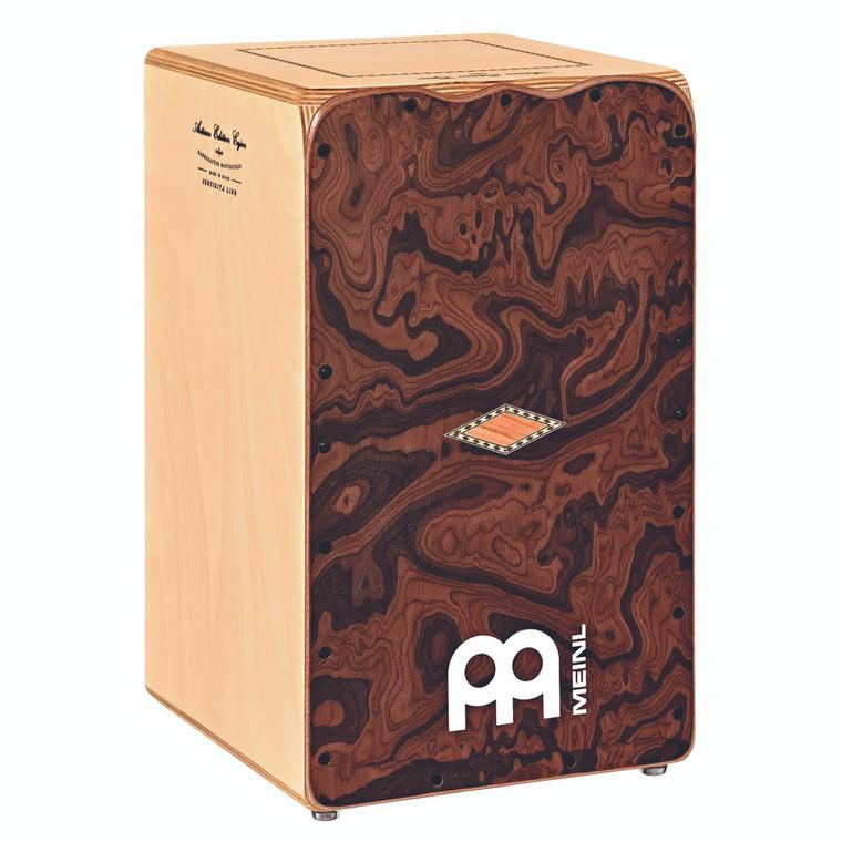Meinl Artisan Edition Seguiriya Line Cajon with Canyon Burl Frontplate