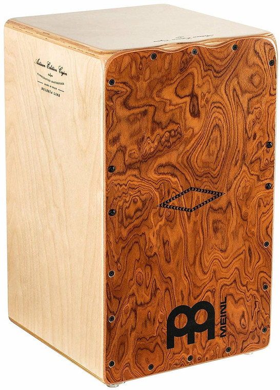 Meinl Percussion Artisan Edition Buleria Line Lava Burl Cajon