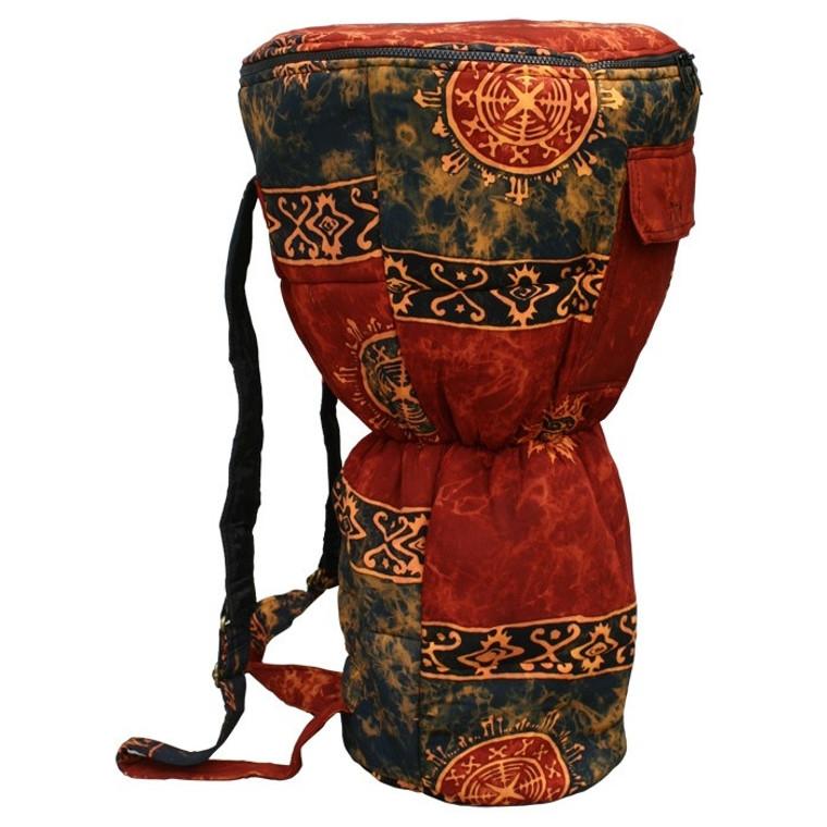 XXL Djembe Drum Backpack, Chocolate Celestial Design (For 14x26 Djembes)