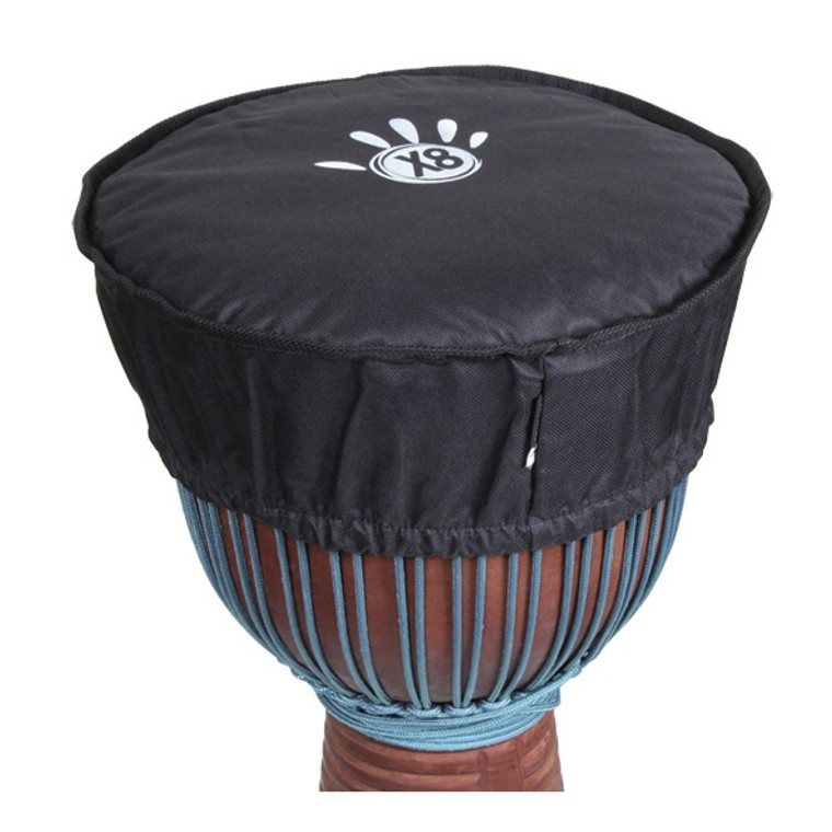 Medium Waterproof X8 Drums Djembe Hat Cover (For 9x16 Djembes)