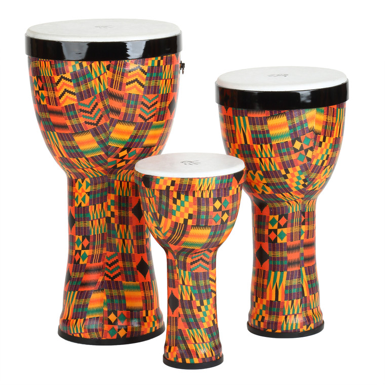 X8 Drums Nesting Djembe Drums, 3-Pack with Bag