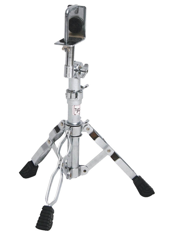 Tycoon Chrome-Plated Seated Bongo Stand