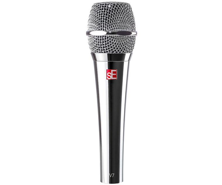 sE Electronics V7 Handheld Supercardioid Dynamic Microphone (Chrome)