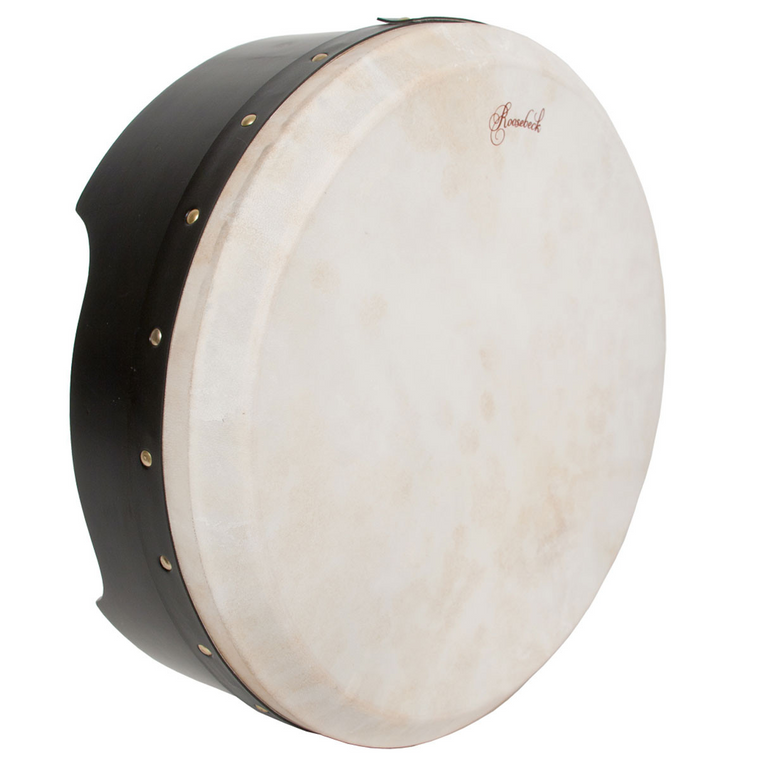 Roosebeck Tunable Ply Bodhran 16-by-5-Inch - Black