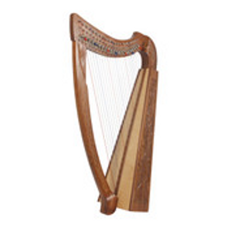 Roosebeck Heather Harp 22-String Chelby Levers Vine
