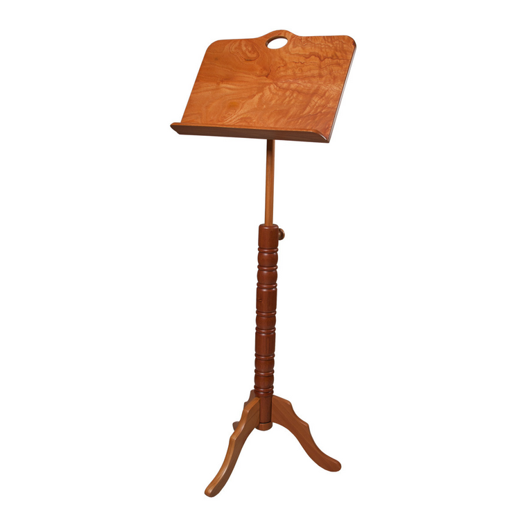 Roosebeck Single Tray Colonial Red Cedar Music Stand