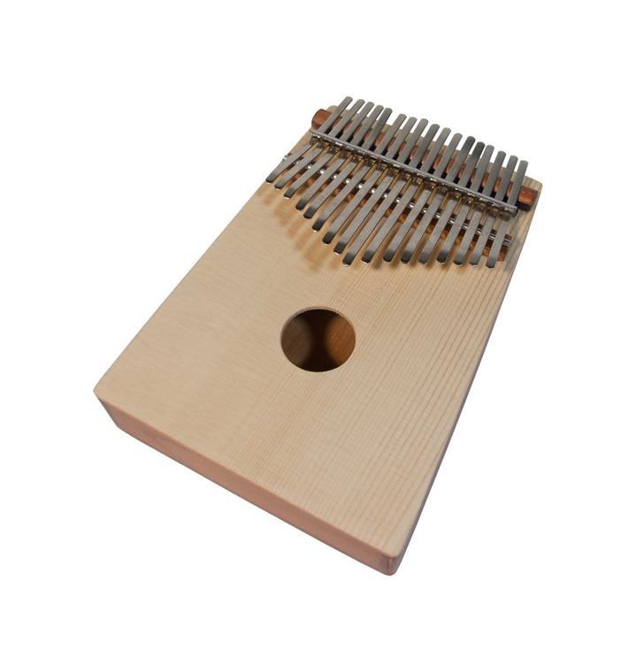 DOBANI 17-Key Thumb Piano w/ Spruce Top - Red Cedar