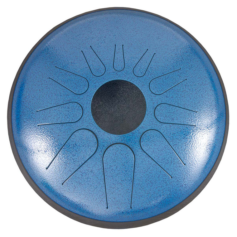 Idiopan Dominus 14-Inch Tunable Steel Tongue Drum - Blue Wave