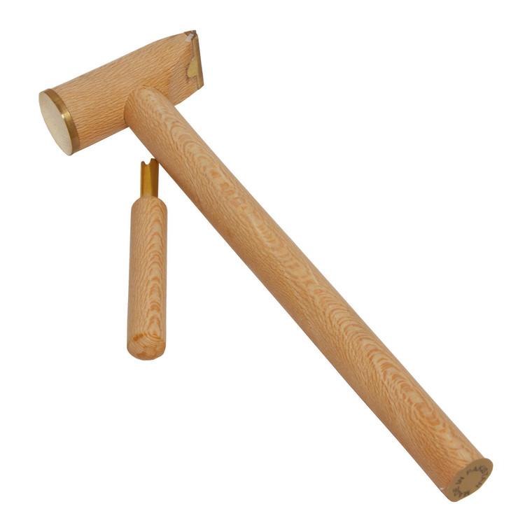 DOBANI Hammer & Tuner for the Kalimba -  Lacewood