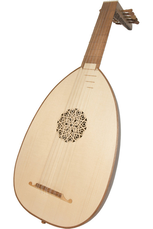 Roosebeck Deluxe 6-Course Lute Walnut