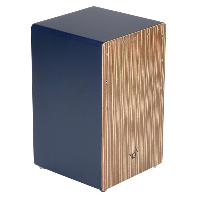 X8 Drums Earthtone Cajon, Blue