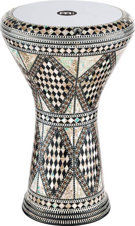 "Meinl 8 3/4"" Artisan Edition Doumbek - White Pearl Mosaic Royale"