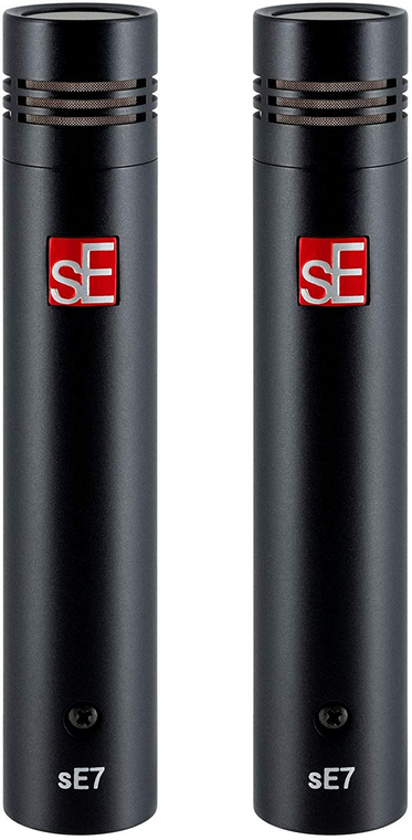 SE SE7-PAIR Factory Matched Pair of SE7 Microphones with Clips
