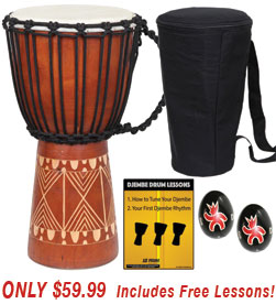 Tribal Djembe Sale