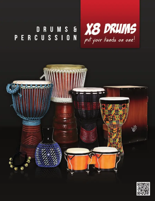 X8 Drums Product Catalog