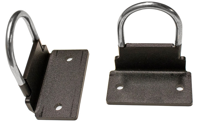 Stall Bar - Resistance Band Hooks (Set) - Exercise Hooks Attachment (Works With CORE Series Stall Bars Only)