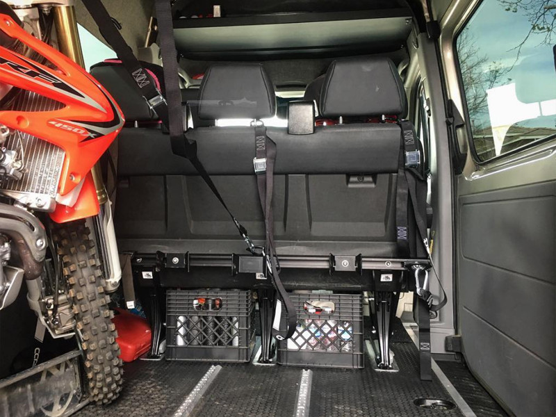 NEW - Sprinter Van Moto Rack - CCR Sport