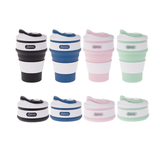 Collapsible Coffee Cup- 350ml 4 Colours Available