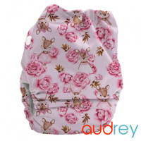 Bubblebubs Candies - Audrey Deer Minky Candie All in Two Complete Nappy