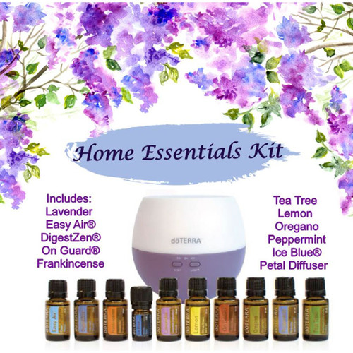 Home Essentials Kit with Petal Diffuser