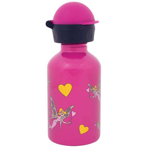 Cheeki Fairies Stainless Steel Water Bottle Pink - 350ml