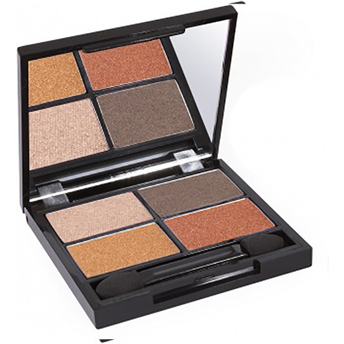 Certified Organic Quad Eyeshadow Palette - Fresh
