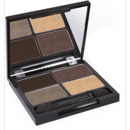 Certified Organic Quad Eyeshadow Palette - Natural