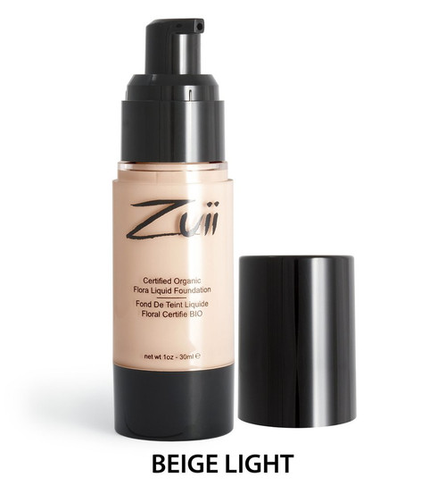 Zuii Flora Liquid Foundation - Beige Light 30ml