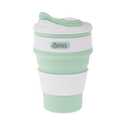 Spearmint Collapsible Coffee Cup