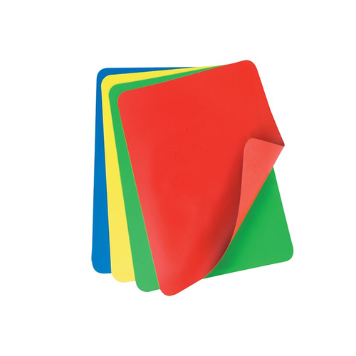 Flexible Cutting Board - set of 4 Multicoloured