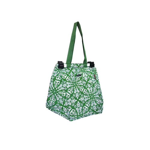 Shopping Trolley Bag - Bohemian Green
