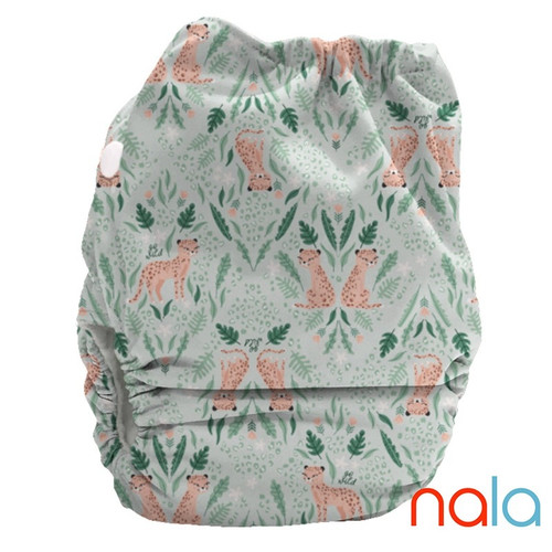 Bubblebubs Candies  - Nala (Cheetahs) PUL Candie All in Two Complete Nappy