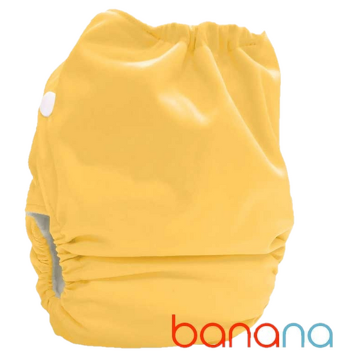 Bubblebubs Candies - Banana Minky Candie All in Two Complete Nappy