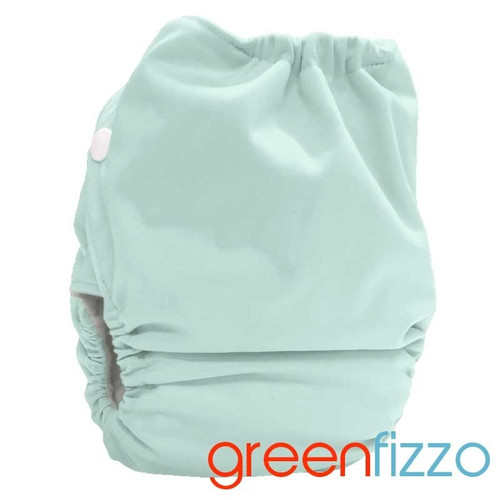 Bubblebubs Candies - Green Fizzo PUL Candie All in Two Complete Nappy