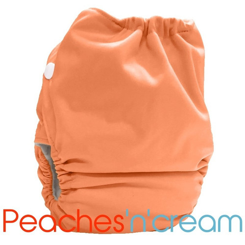 Bubblebubs Candies  - Peaches n Cream PUL Candie All in Two Complete Nappy