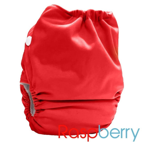 Bubblebubs Candies - Raspberry PUL Candie All in Two Complete Nappy