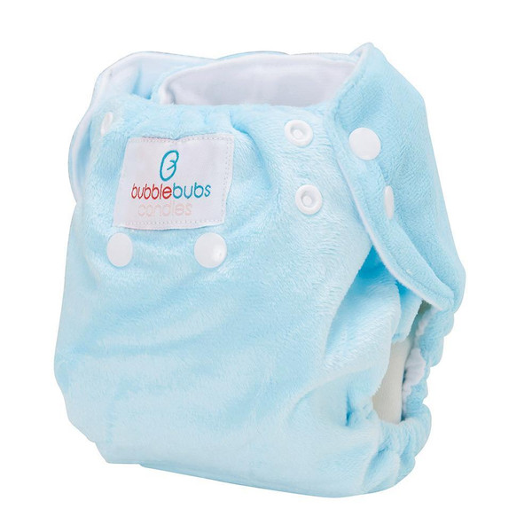 Bubblebubs Candies - Icy Mint Minky Candie All in Two Complete Nappy