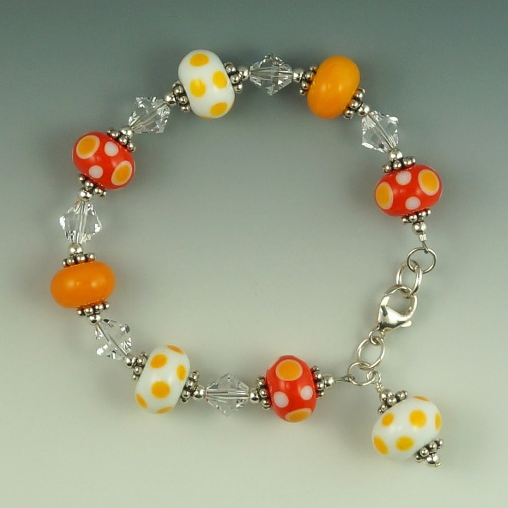 Candylicious Orange Bracelet