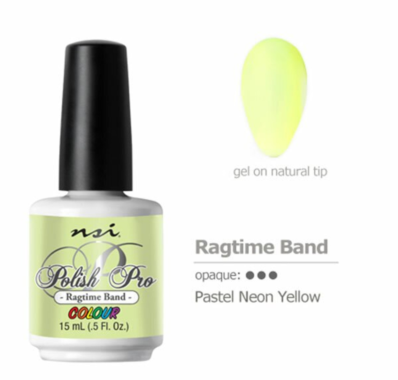 NSI Polish Pro Ragtime Band - 15 mL (.5 Fl. Oz.)
