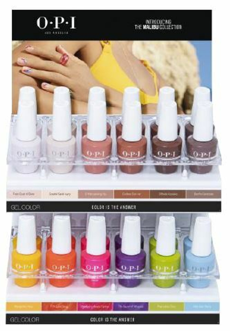 OPI GelColor SUMMER 2021 Malibu Collection - Open Stock