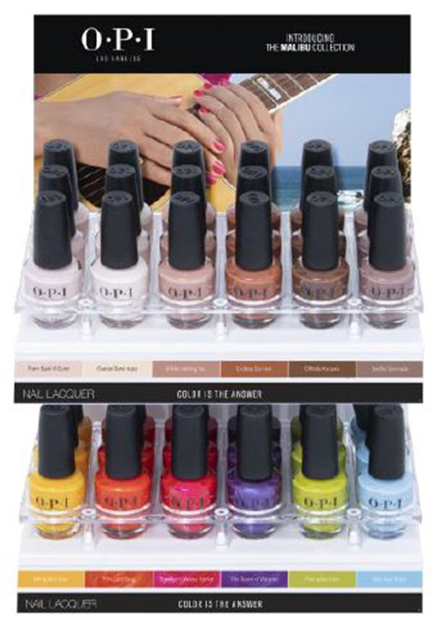 OPI Classic Nail Lacquer SUMMER 202 Malibu Collection - Open Stock