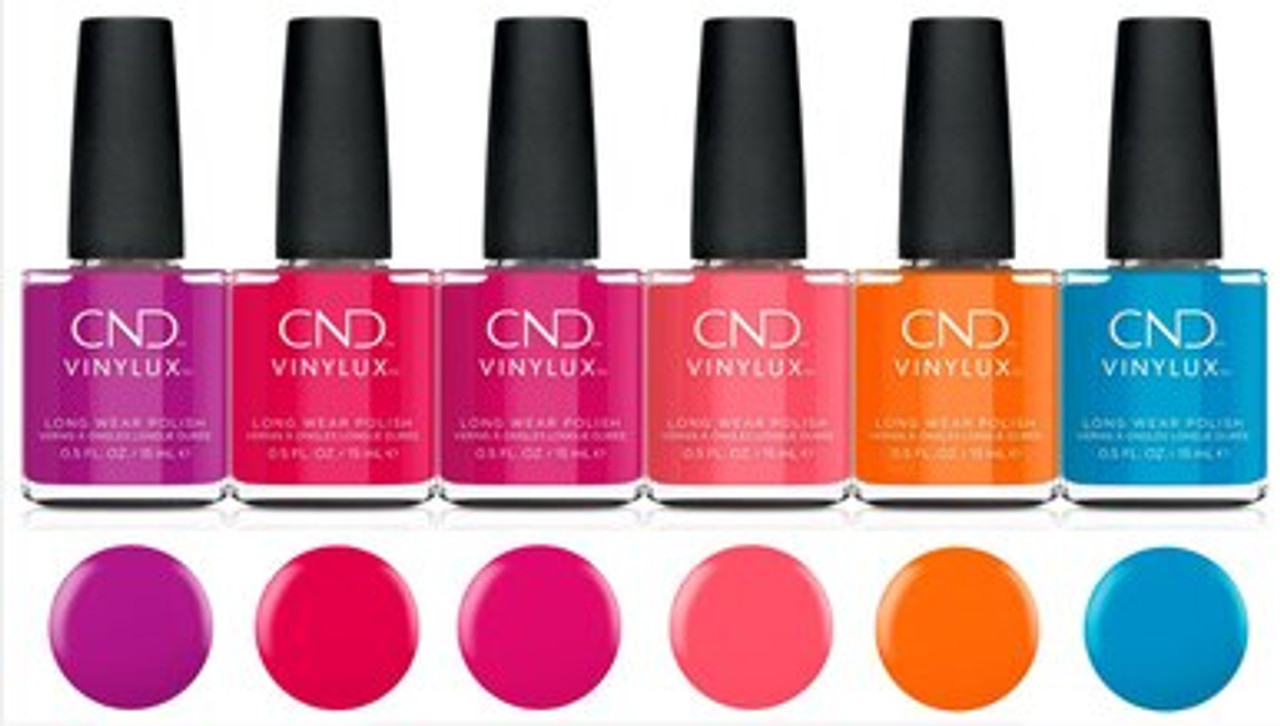 CND Vinylux Nail Polish Summer 2021 Summer City Chic Collection - Open Stock