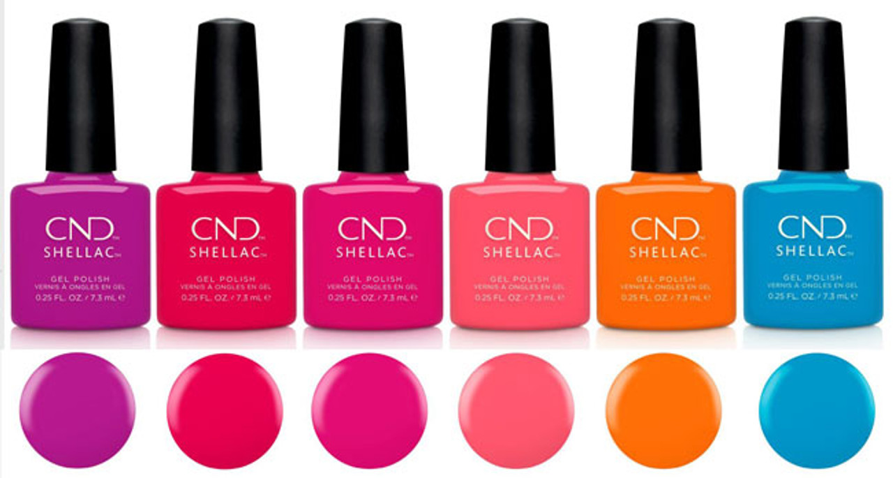 CND Shellac Summer 2021 Summer City Chic Collection - Open Stock