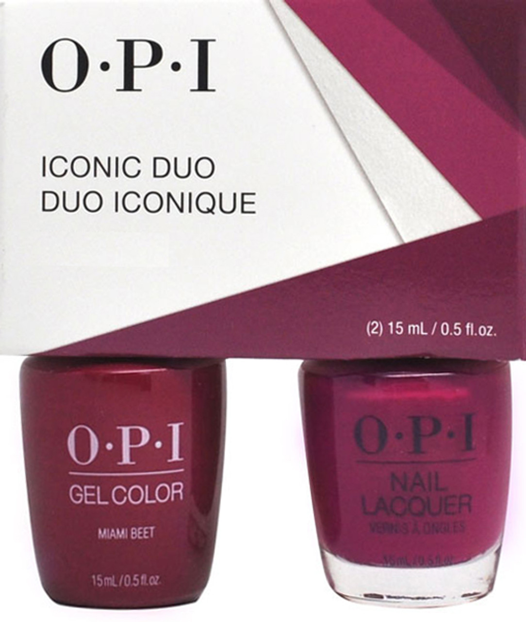 OPI DUO GelColor + Matching Nail Lacquer Summer 2021 Malibu Collection - Open Stock