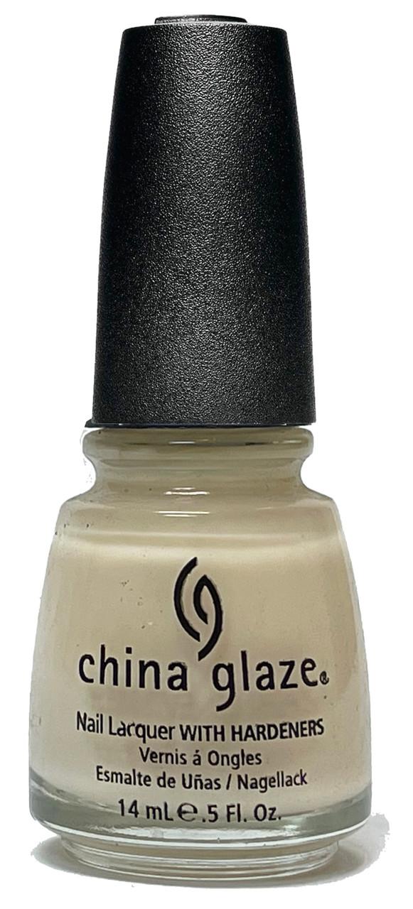 China Glaze Nail Polish Lacquer Demure - .5oz