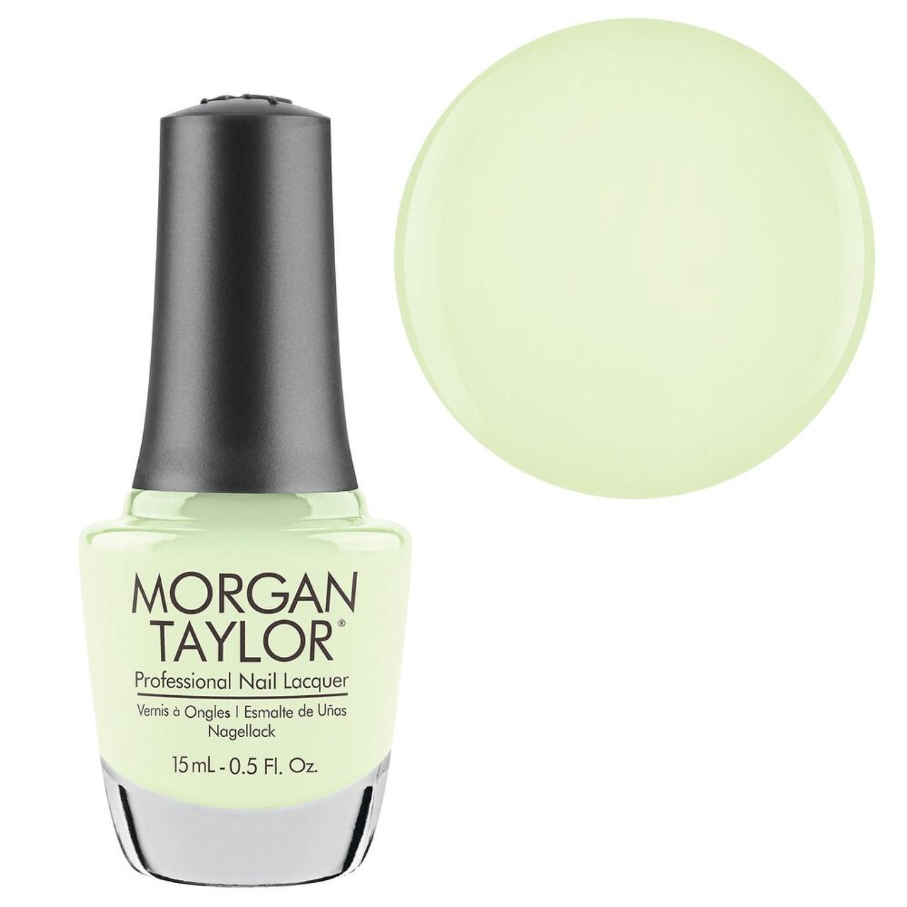 Morgan Taylor Glow In The Dark Top Coat - 0.5oz